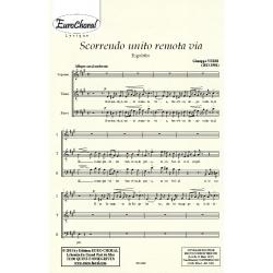 SCORRENDO UNITI REMOTA VIA (Rigoletto) (Choeur)