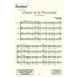 """CHOEUR DE LA PROCESSION (\""""Les Lombards\"""") (Choeur)"""