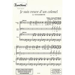 JE SUIS VEUVE D\'UN COLONEL (La vie parisienne)
