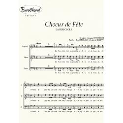 CHOEUR DE FETE (La Périchole) (Choeur)