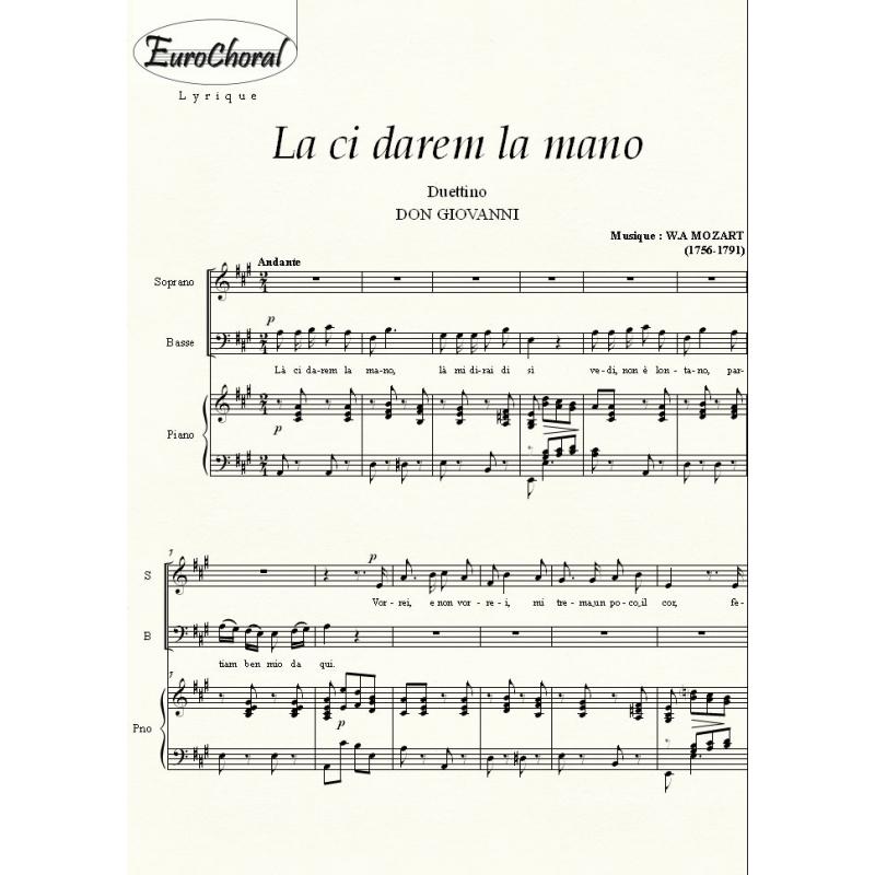 LA CI DAREM LA MANO (Don Giovanni)