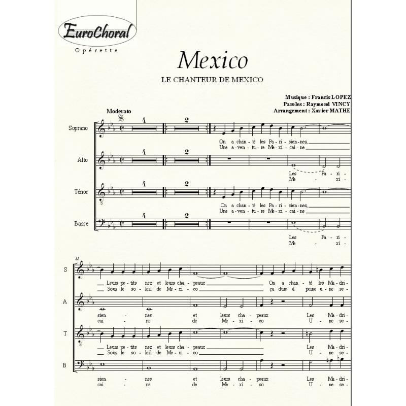 MEXICO (Le Chanteur de Mexico) (Choeur)