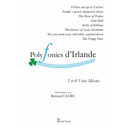 Recueil Polyphonies d'Irlande