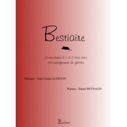 Recueil Bestaire (Jean-Claude Audouin)