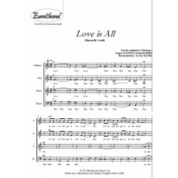 LOVE IS ALL (Choeur)