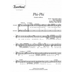 PHI PHI (Pot pourri) (Choeur)