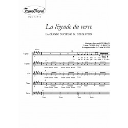 LEGENDE DU VERRE (extrait de LA GRANDE DUCHESSE DU GEROLSTEIN)
