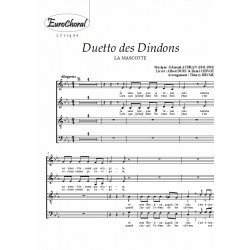 DUETTO DES DINDONS (extrait de LA MASCOTTE) (Choeur)