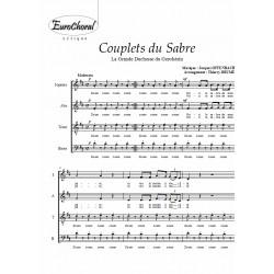COUPLETS DU SABRE (La Grande Duchesse du Gerolstein)