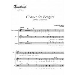CHOEUR DES BERGERS (extrait de Orphée aux Enfers) (Choeur)