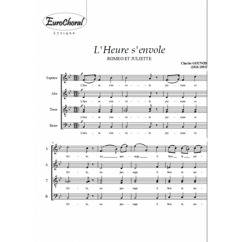 L'HEURE S'ENVOLE (Roméo et Juliette)