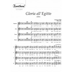 GLORIA ALL EGITTO (extrait de Aïda) (Choeur)