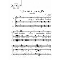 FARANDOLE JOYEUSE ET FOLLE (LA) (Mireille) (Choeur)