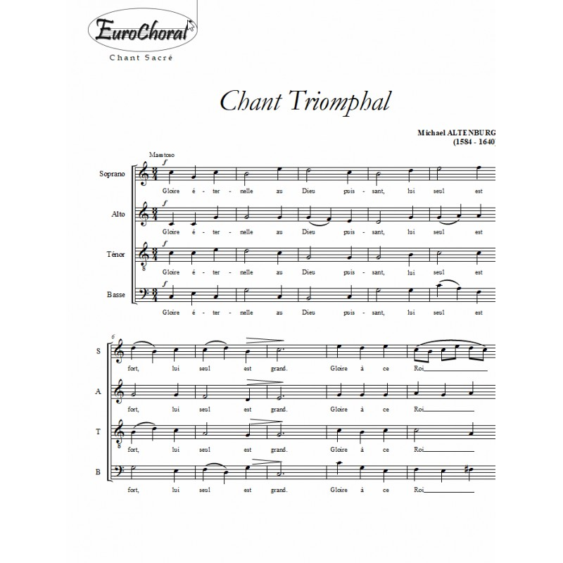 CHANT TRIOMPHAL