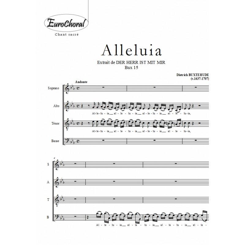 ALLELUIA (Der Herr ist mit mir) (Choeur)