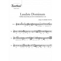 LAUDATE DOMINUM (Vêpres solennelles KV 339) (Choeur)