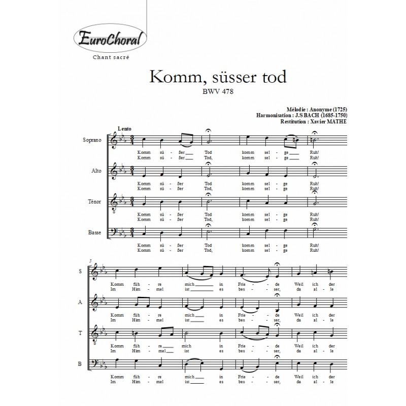 KOMM, SÜSSER TOD (BWV 478)