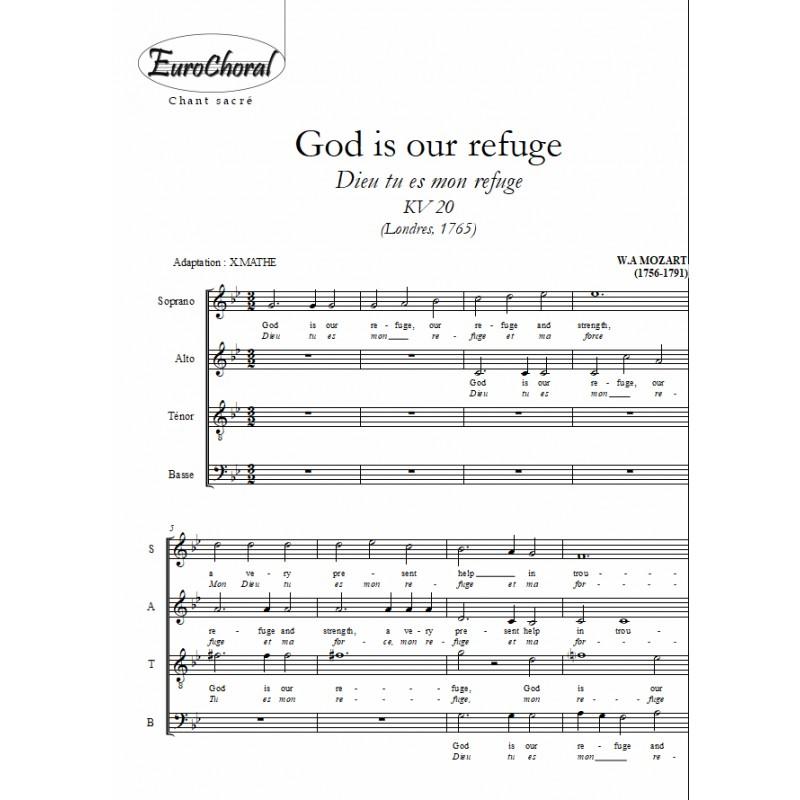 GOD IS OUR REFUGE  KV 20 (Dieu tu es mon refuge)