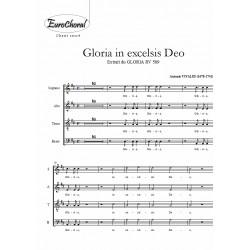 GLORIA (extrait du Gloria RV 589) (Choeur)