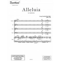 ALLELUIA (Le Messie) (Conducteur)