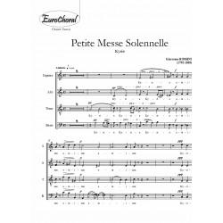 KYRIE (extrait de Petite Messe Solennelle) (Choeur)