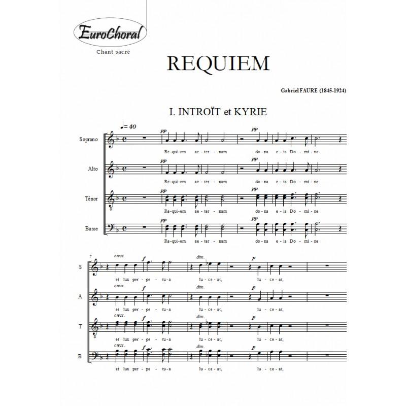 REQUIEM Op.48 (Choeur)
