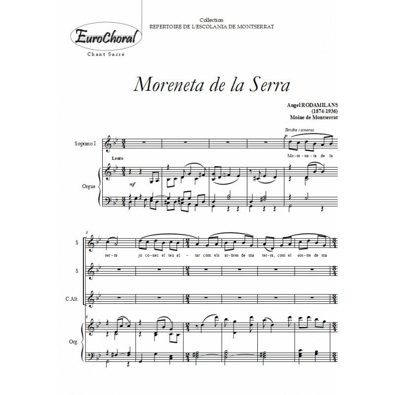 MORENETA DE LA SERRA
