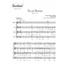 TU ES PETRUS, Op.17, n°1
