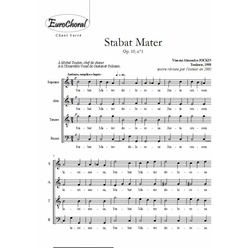 STABAT MATER Op.10, n°1