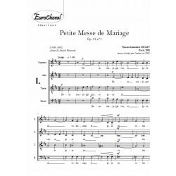 PETITE MESSE DE MARIAGE Op.14, n°1