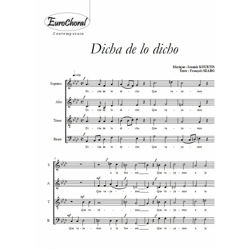DICHA DE LO DICHO