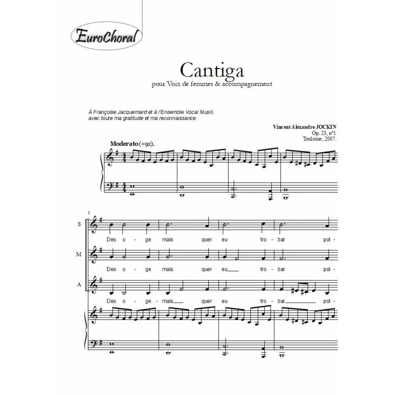 CANTIGA Op.23 N°1