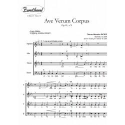 AVE VERUM CORPUS Op.10 n°3