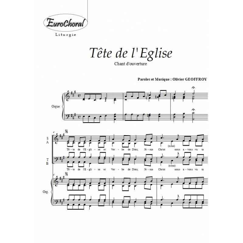 TETE DE L'EGLISE (Chant d'ouverture)