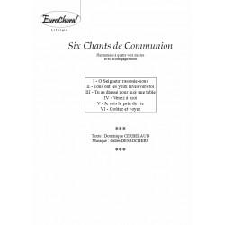 SIX CHANTS DE COMMUNION