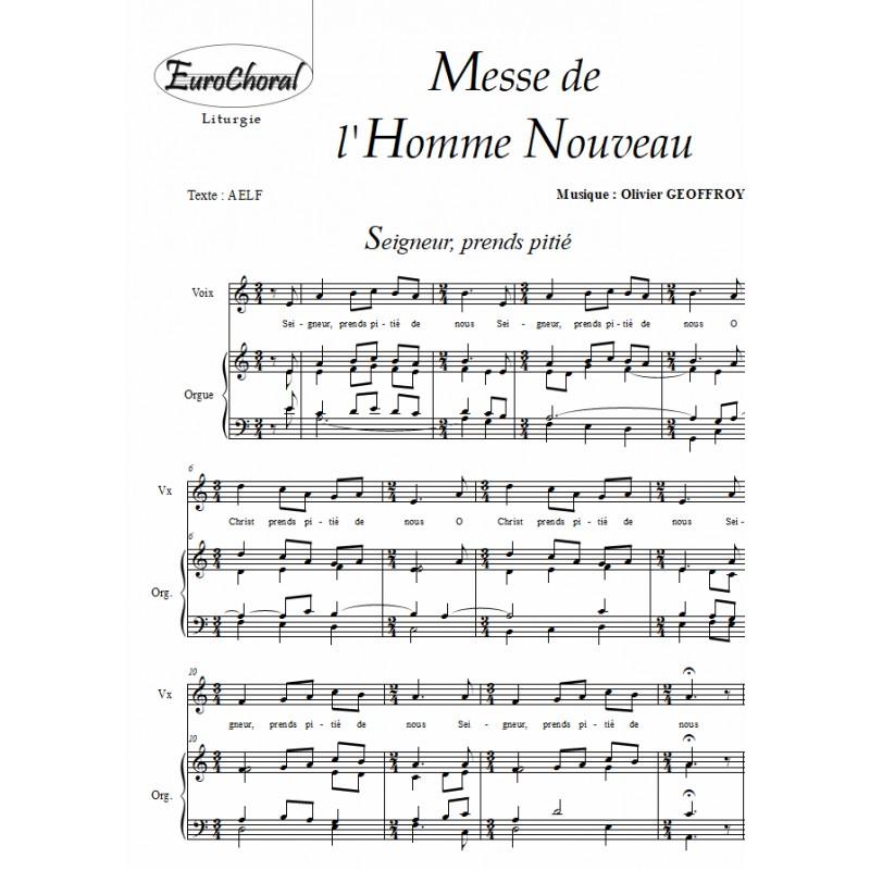 MESSE DE L'HOMME NOUVEAU