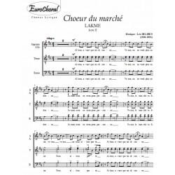CHOEUR DU MARCHE (Lakmé)
