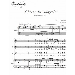 CHOEUR DES VILLAGEOIS (Guillaume Tell)