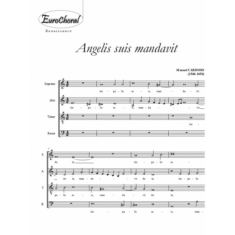 ANGELIS SUIS MANDAVIT (Cardoso)