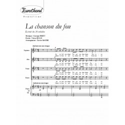 LA CHANSON DU FOU (G.Bizet)