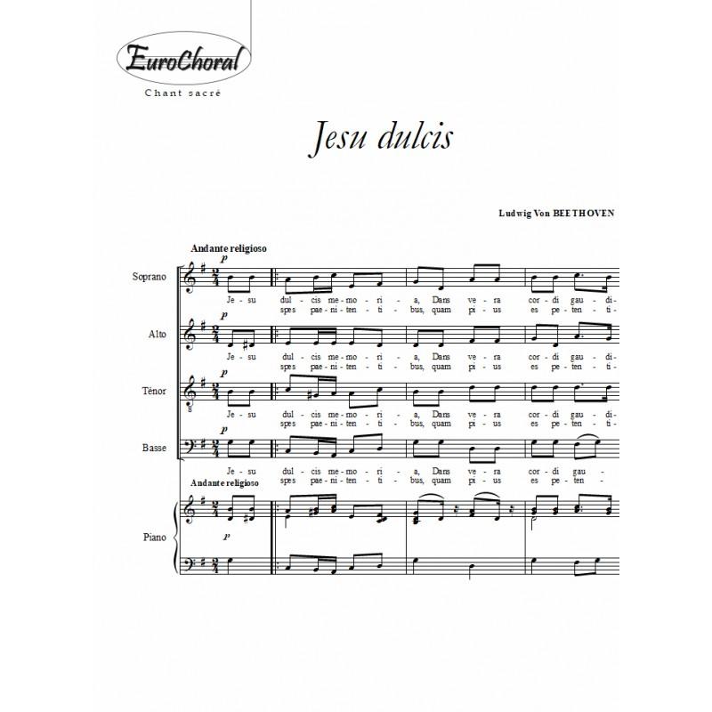 JESU DULCIS (Beethoven)