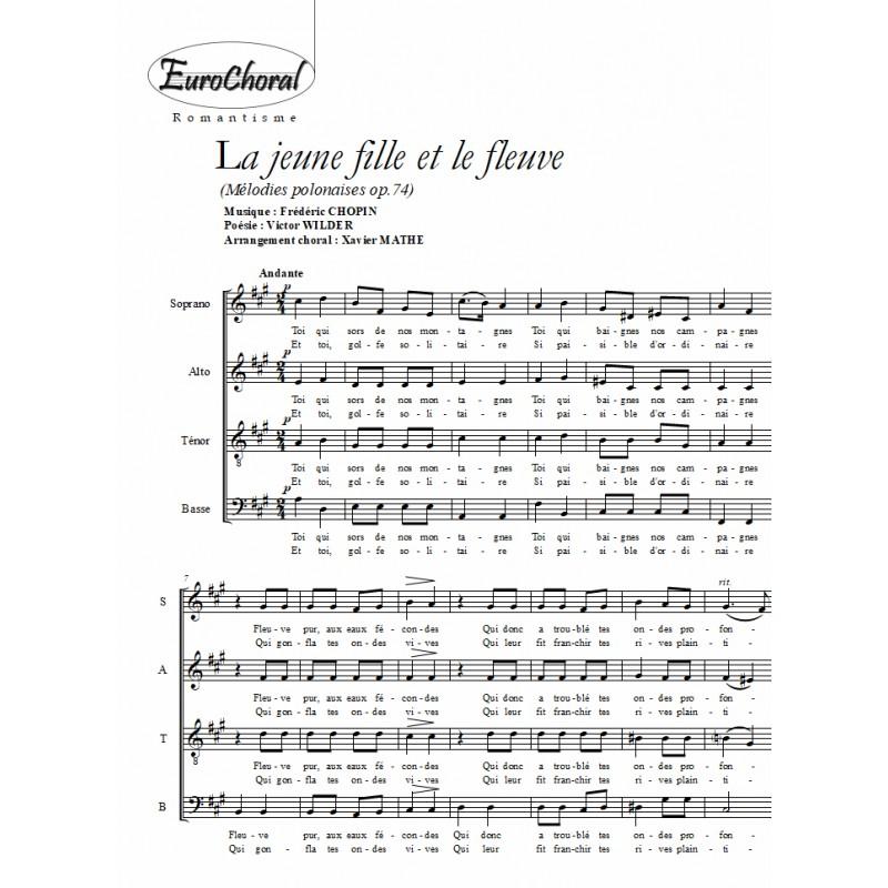 LA JEUNE FILLE ET LE FLEUVE (Fr.Chopin)