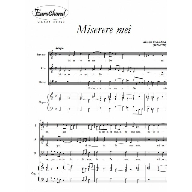 MISERERE MEI (A.Caldara)
