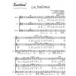 LA PALOMA (Choeur)