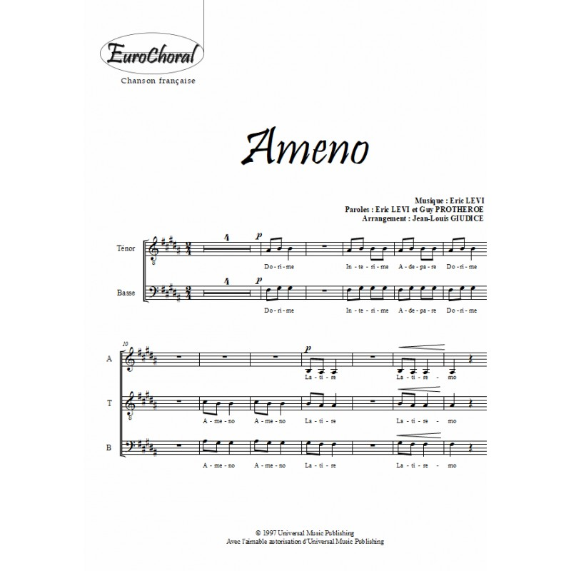 AMENO (Choeur)