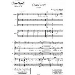 CHANT SACRE Op.2 N°6