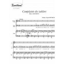 COMPLAINTE DES TABLIERS (Mme L'Archiduc)
