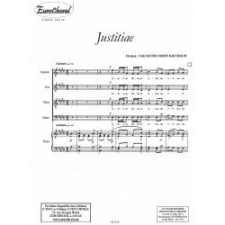 JUSTITIAE (Mendelssohn)