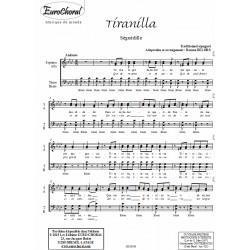 TIRANILLA (Séguedille)