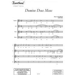 DOMINE DEUS MEUS
